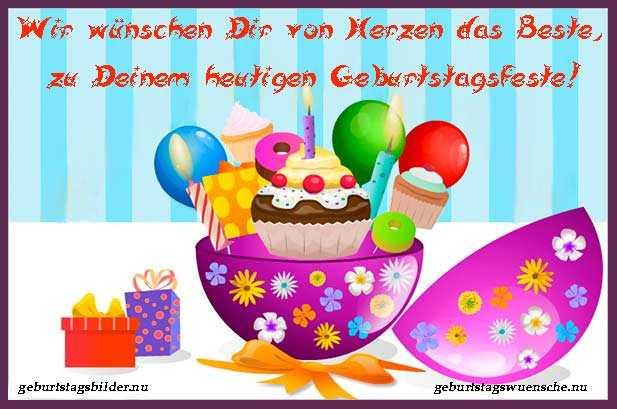 Schöne Geburtstagsbilder  Schöne GeburtstagsBilder