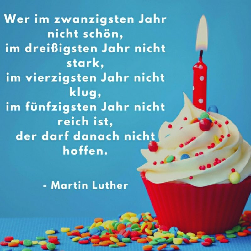 Schöne Geburtstagskarten  Den besten Spruch zum Geburtstag finden – 50 herrliche Ideen