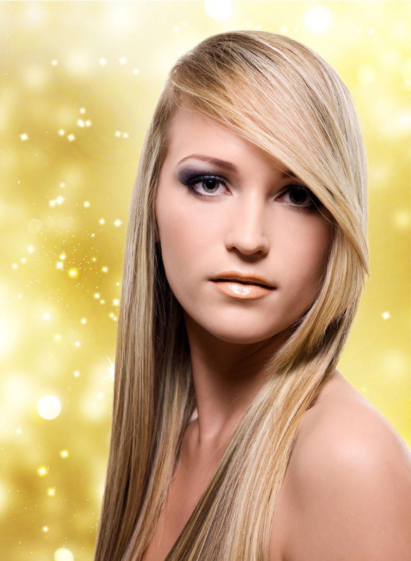 Schöne Haar Frisuren  Schöne Frisuren für glatte Haare Bilder