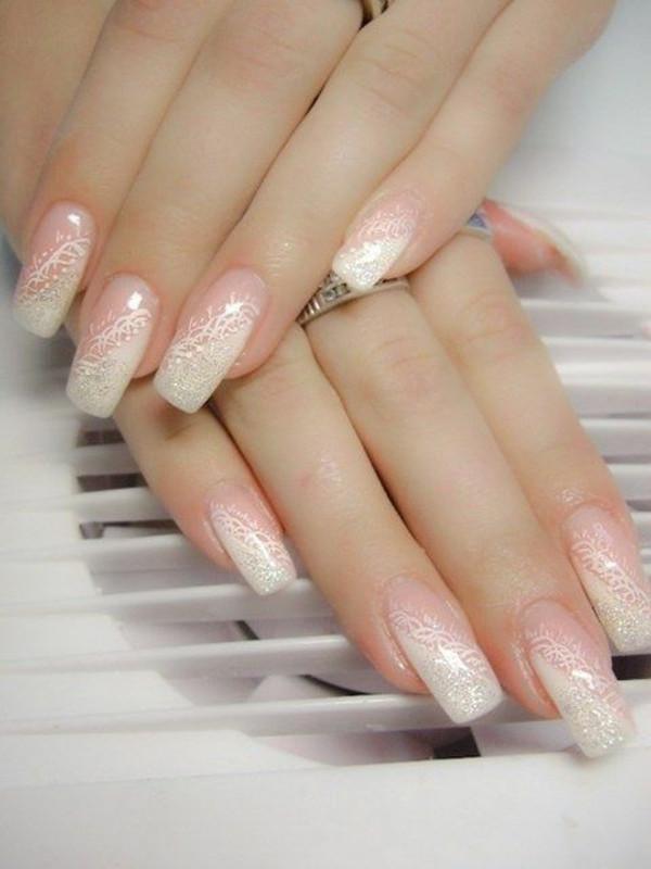 Schöne Nageldesign  Nageldesign für Hochzeit schöne Maniküre für Ihren