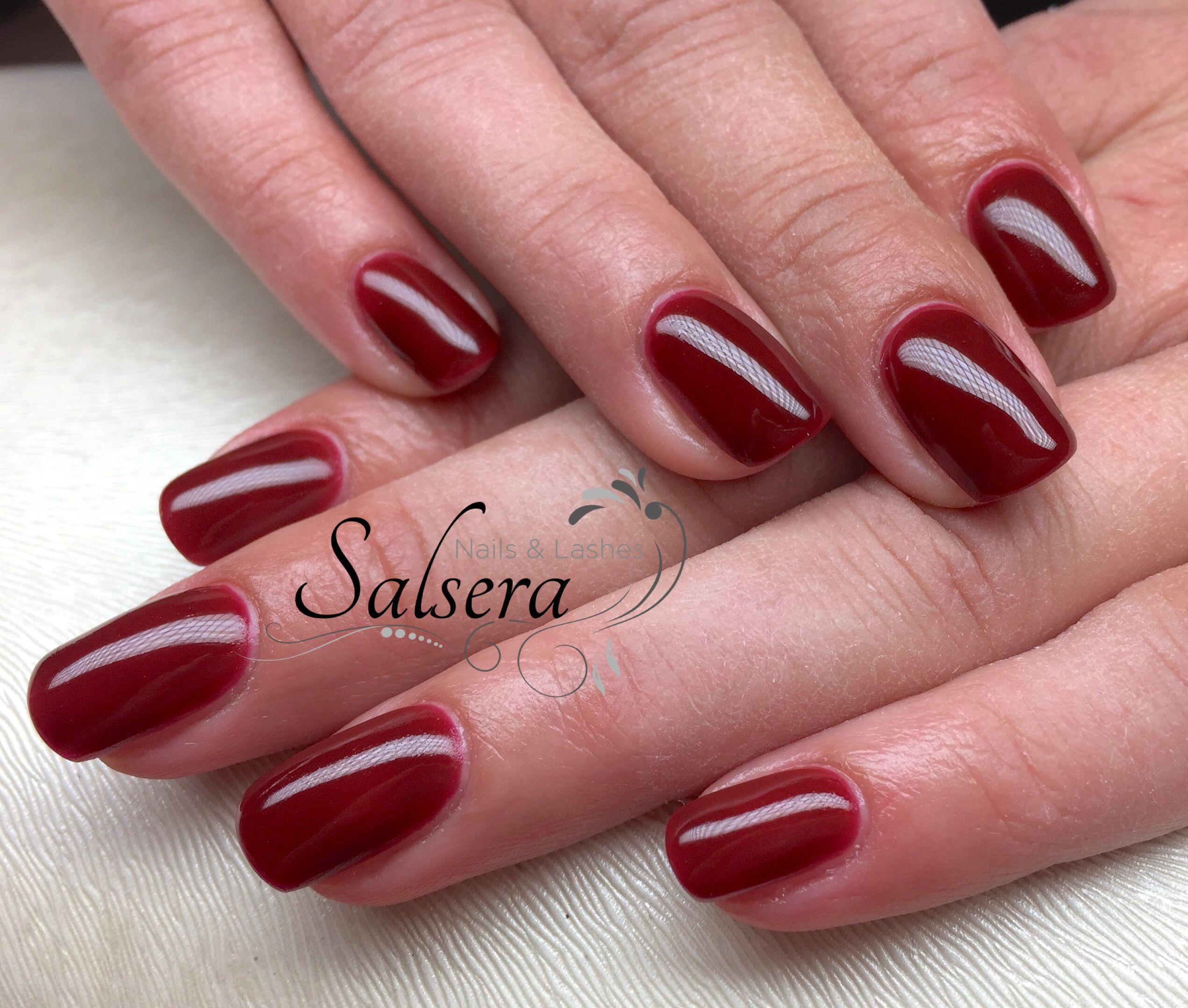 Schöne Nageldesign  Nails Nägel Nageldesign Schöne Nägel Fullcover Rot red