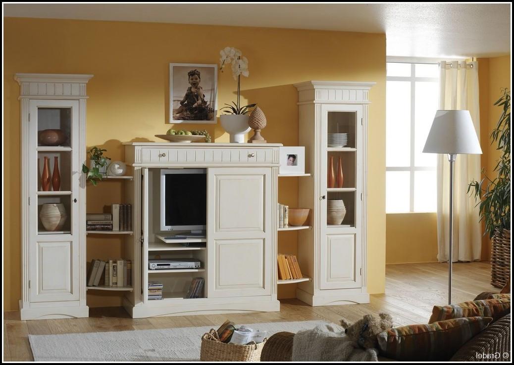 Schrankwand Wohnzimmer  Schrankwand Wohnzimmer Weiß wohnzimmer House und Dekor