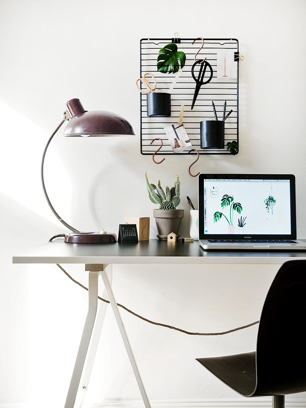 Schreibtisch Diy  So einfach so gut – moderner DIY Schreibtisch Organizer
