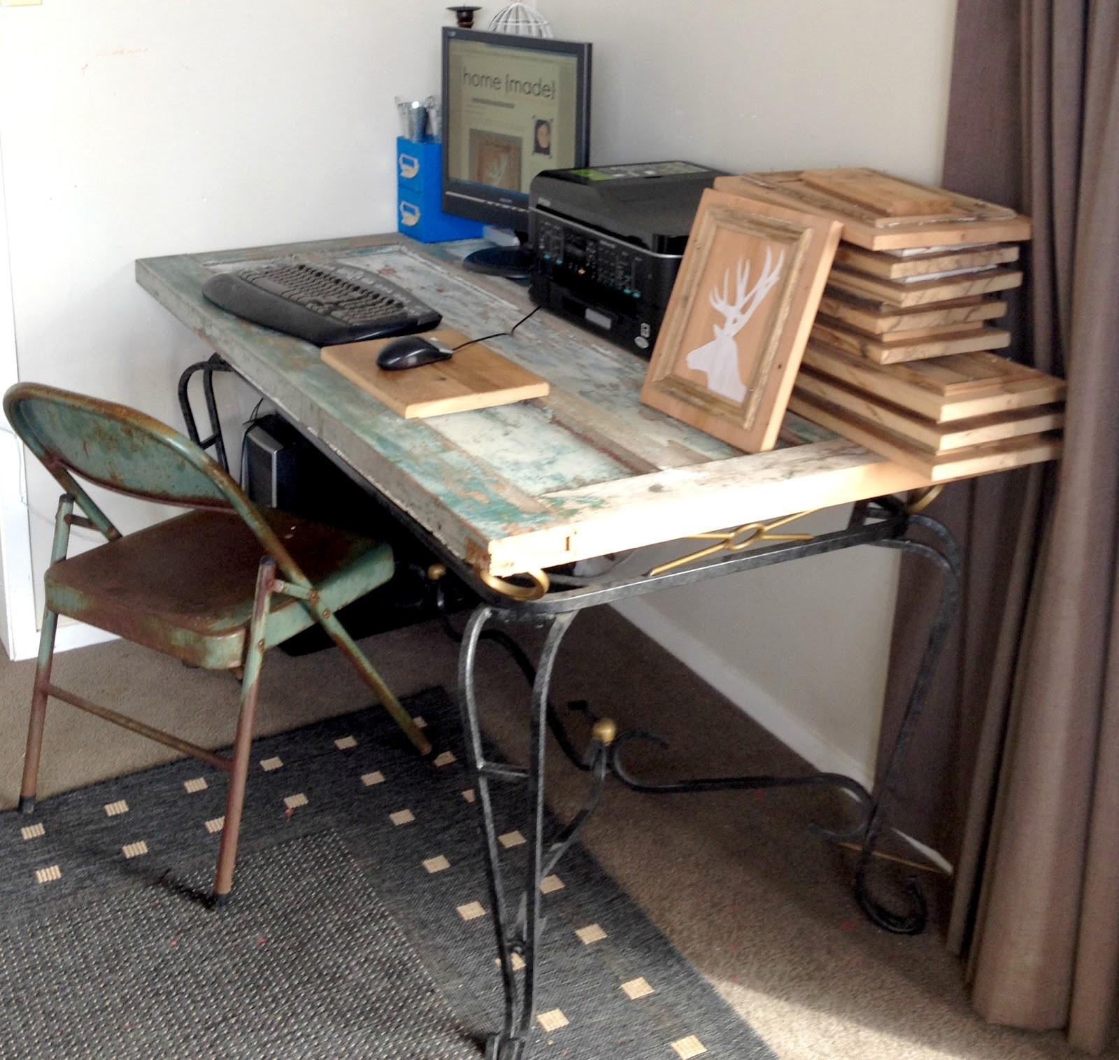 Schreibtisch Diy  Schreibtisch selber bauen 55 Ideen fresHouse