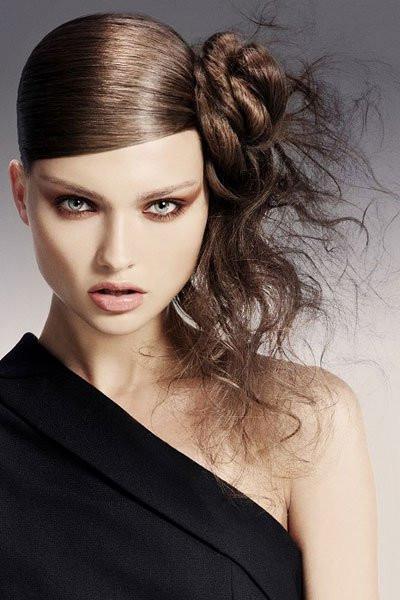 Seitliche Frisuren  Hochsteckfrisuren seitlich