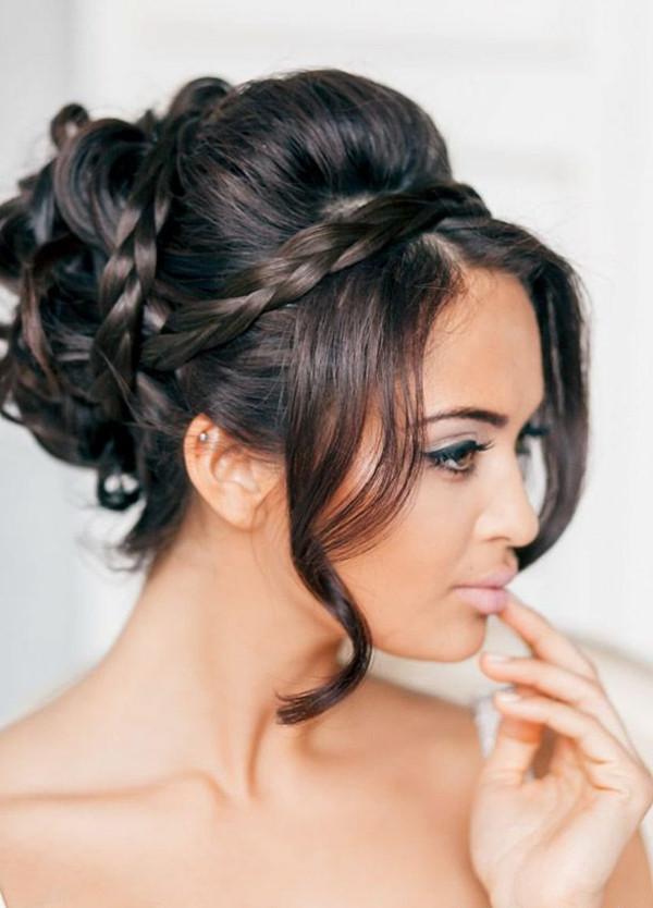 Seitliche Frisuren  Hochsteckfrisuren wirklich leicht klappen