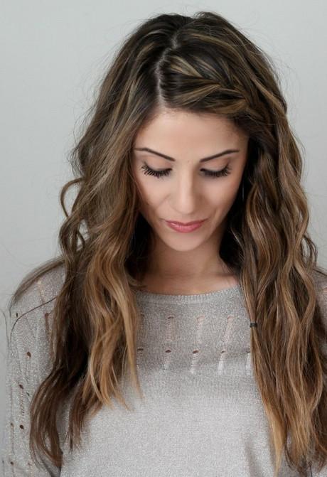 Seitliche Frisuren  Seitliche zopf frisuren