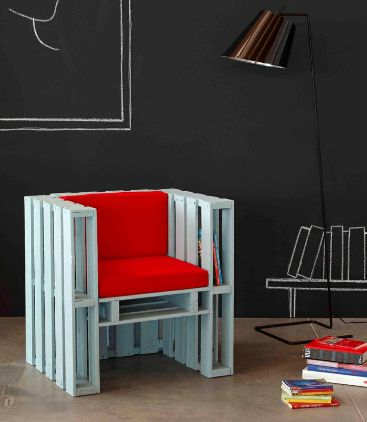 Sessel Diy  DIY Ideen für Möbel aus Paletten 15 spannende Projekte