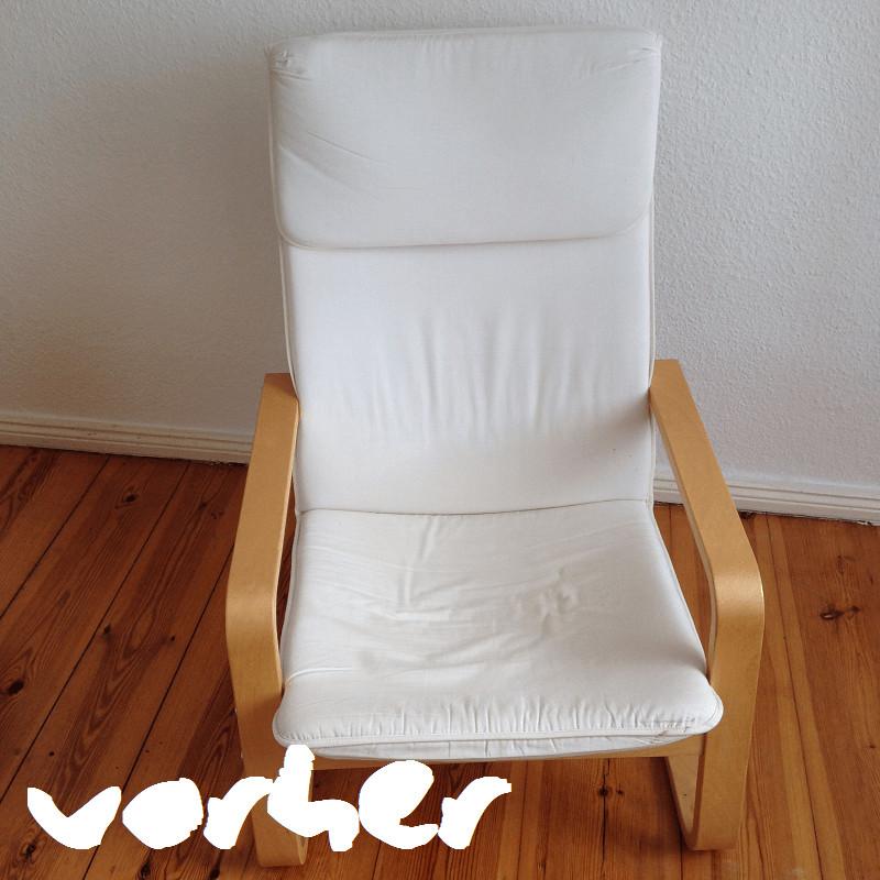Sessel Diy  DIY Ikea Sessel Makeover MADE OF STIL Slow Fashion