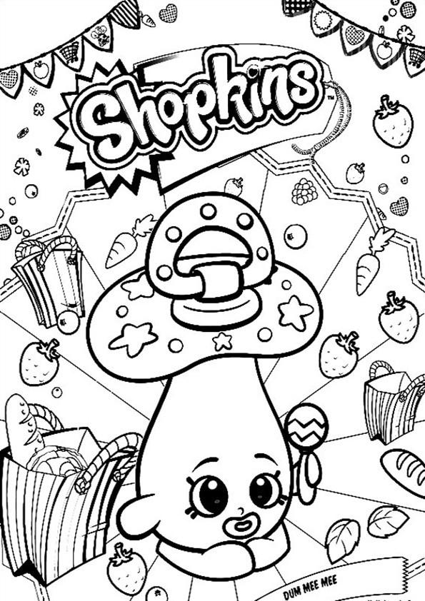 Shopkins Ausmalbilder  Ausmalbilder Shopkins 07