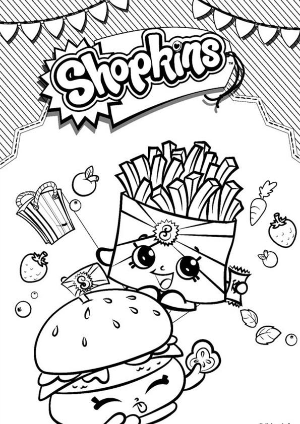 Shopkins Ausmalbilder  Ausmalbilder Shopkins 08