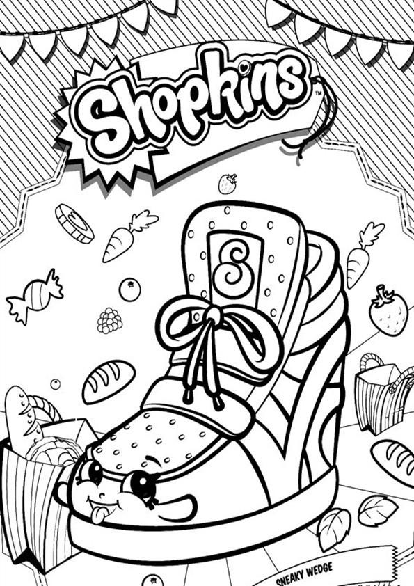 Shopkins Ausmalbilder  Ausmalbilder Shopkins 12