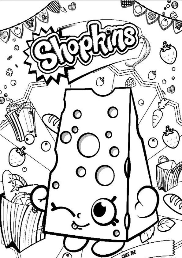 Shopkins Ausmalbilder  Ausmalbilder Shopkins 04