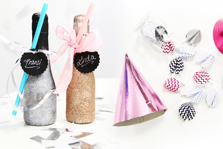 Silvester Geschenke  Silvester DIY Individuelle Glücksbringer und Geschenkideen