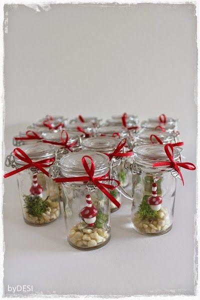 Silvester Geschenke  byDESI ♥ Kreatives mit Herz Glück im Glas