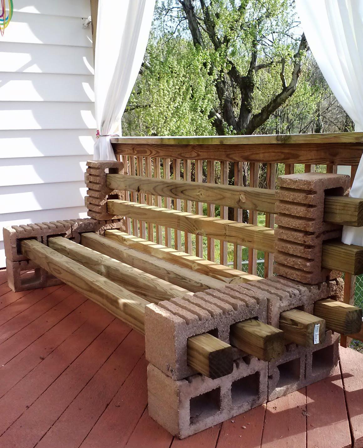 Sitzbank Diy  Betonblöcke für tolle DIY Möbel fresHouse