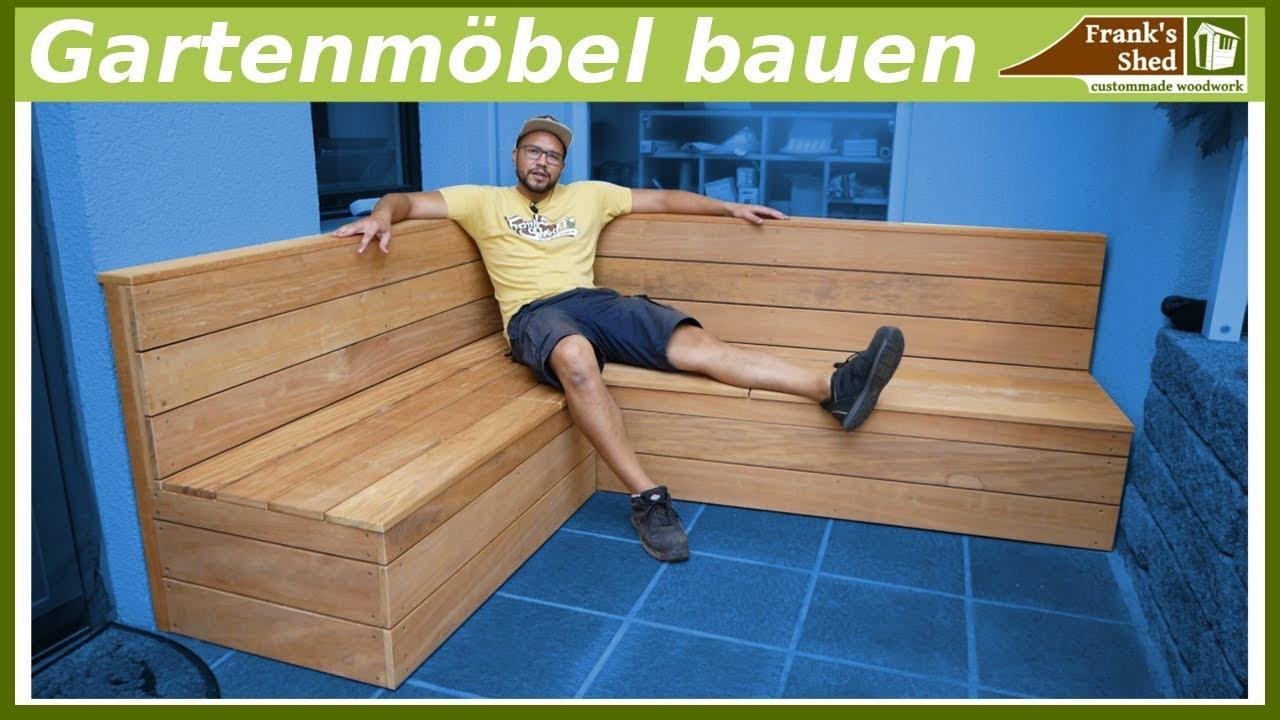Sitzbank Diy  Gartenmöbel aus Holz bauen