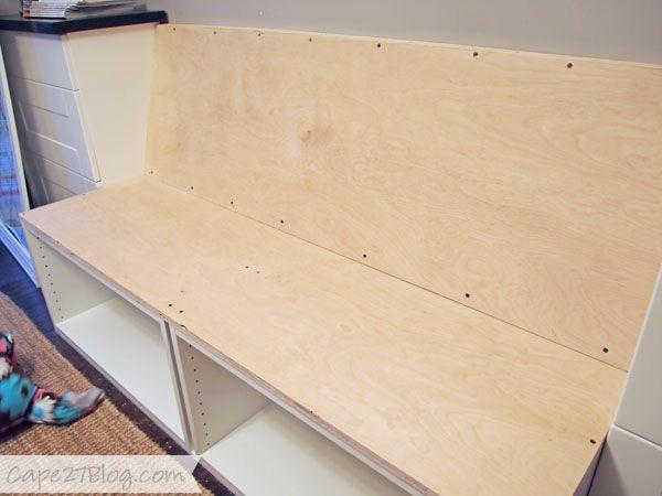 Sitzbank Diy  Sitzbank selber bauen haben Sie Spaß mit dem praktischen
