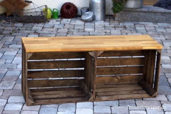Sitzbank Diy  DIY Handgemachte Sitzbank HANDMADE Kultur