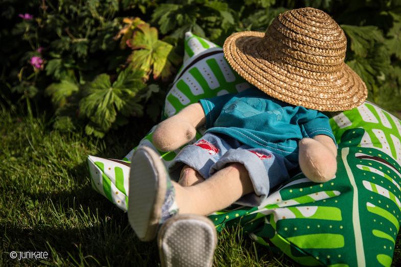 Sitzsack Diy  JuniKate DIY super cooler Sitzsack für Waldorfpuppen