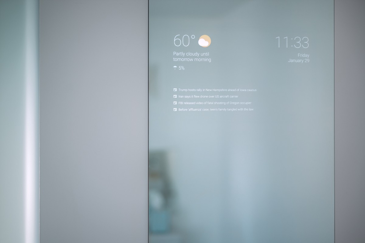 Smart Mirror Diy  Google Engineer Creates The Perfect Smart Bathroom Mirror