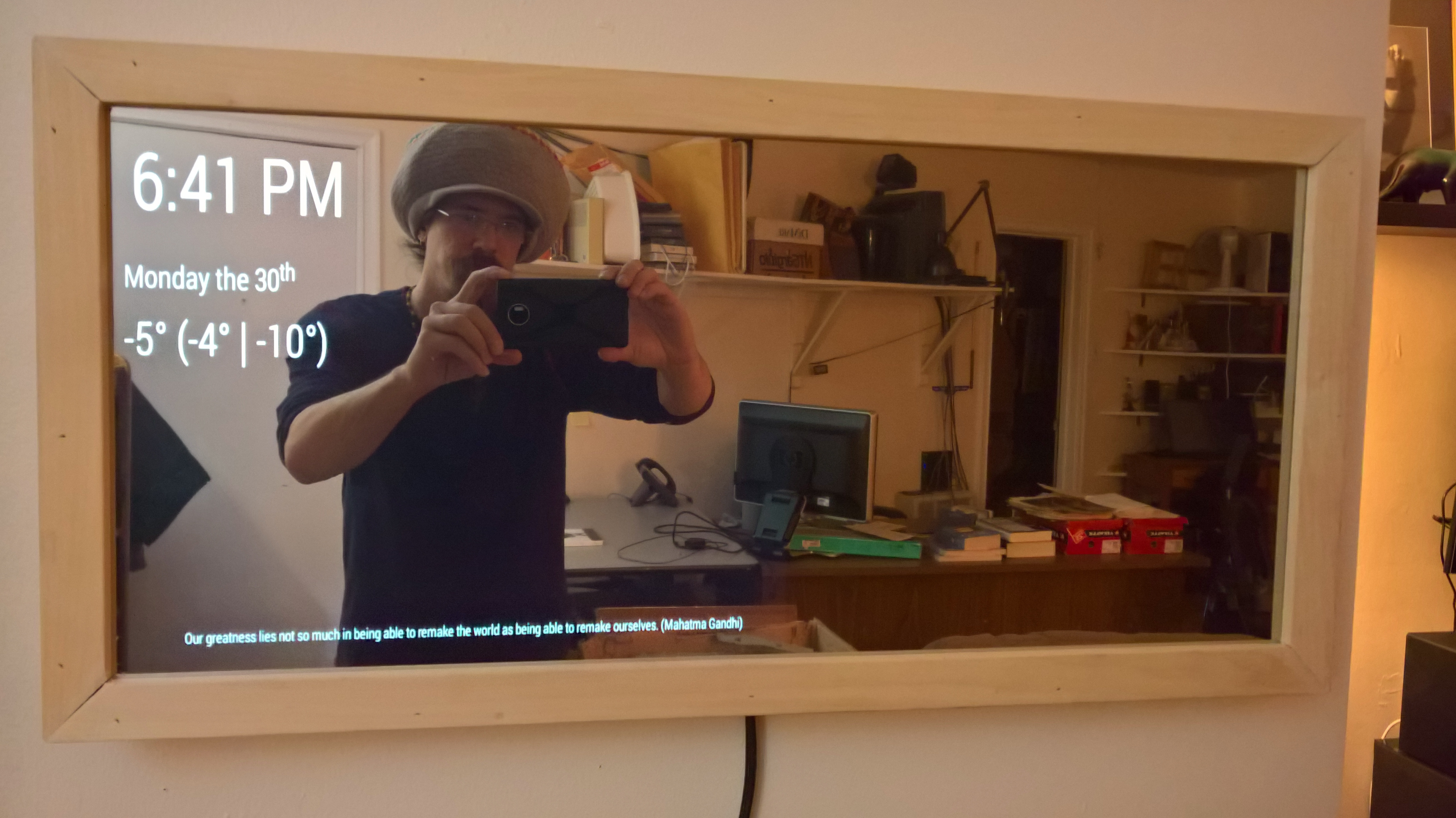 Smart Mirror Diy  Weekly Creations