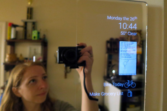 Smart Mirror Diy  Turning an old tablet into an Android powered smart mirror