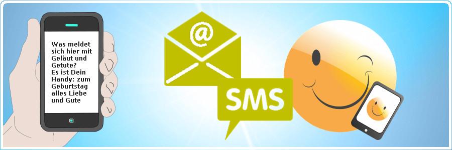 Sms Geburtstagswünsche  Lustige SMS Geburtstagssprüche fürs Handy