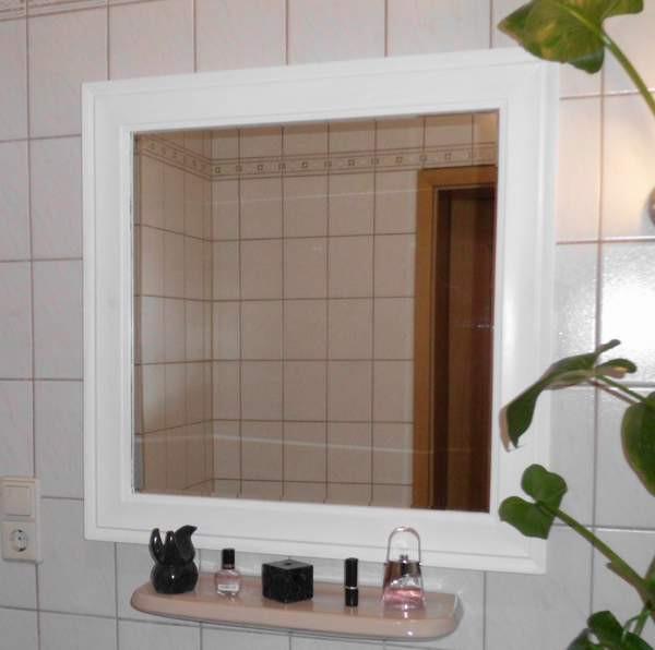 Spiegel Diy  Zweitverwendung – Neuer Spiegel aus alten Materialien