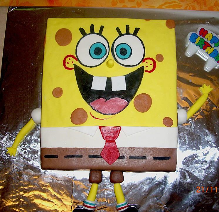 Spongebob Kuchen  Rezept backofen Spongebob torte rezept