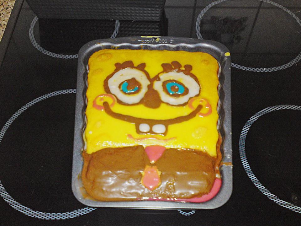 Spongebob Kuchen  Spongebob Kuchen von Cosilein