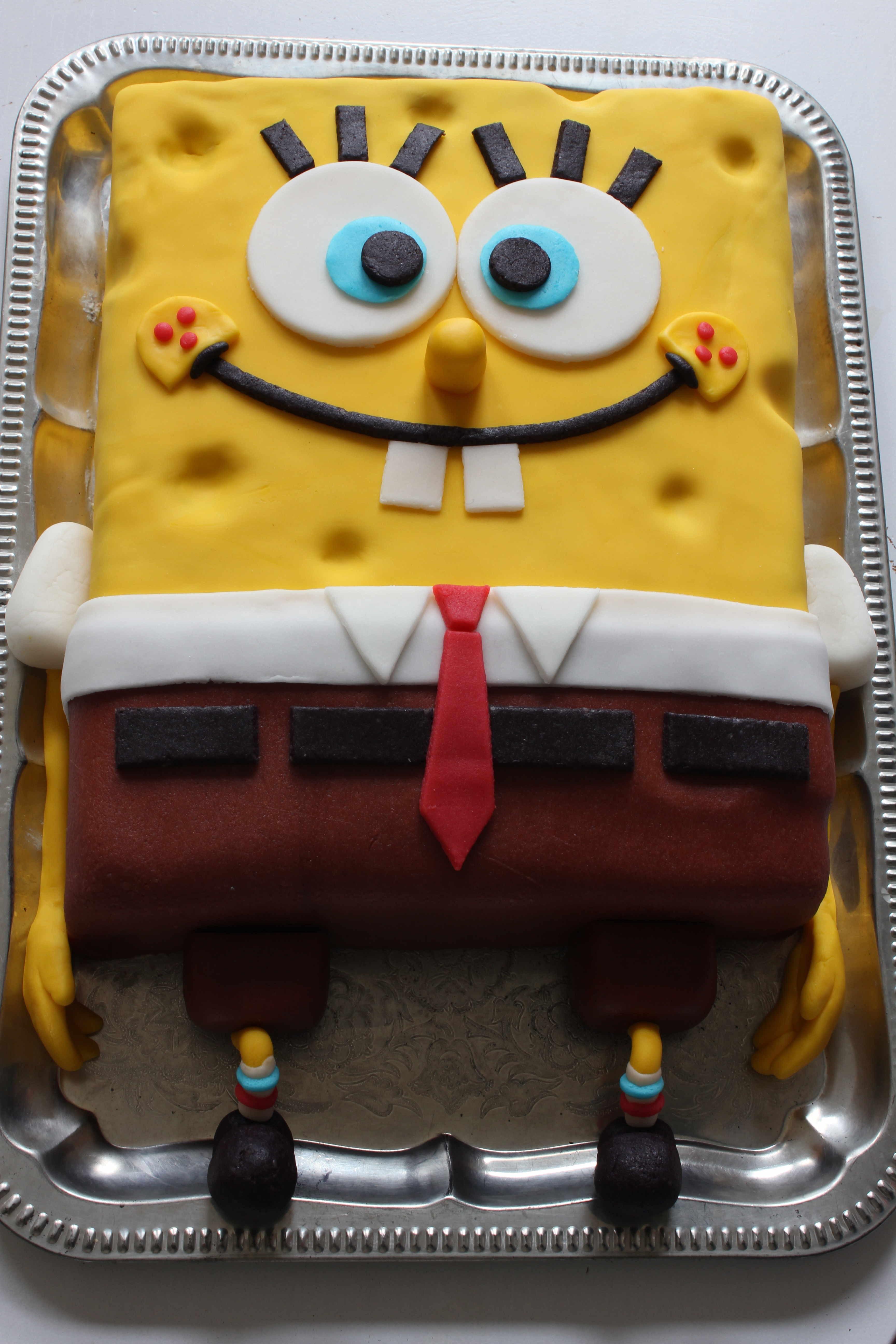 """Spongebob Kuchen  """"Spongebob Torte"""""""