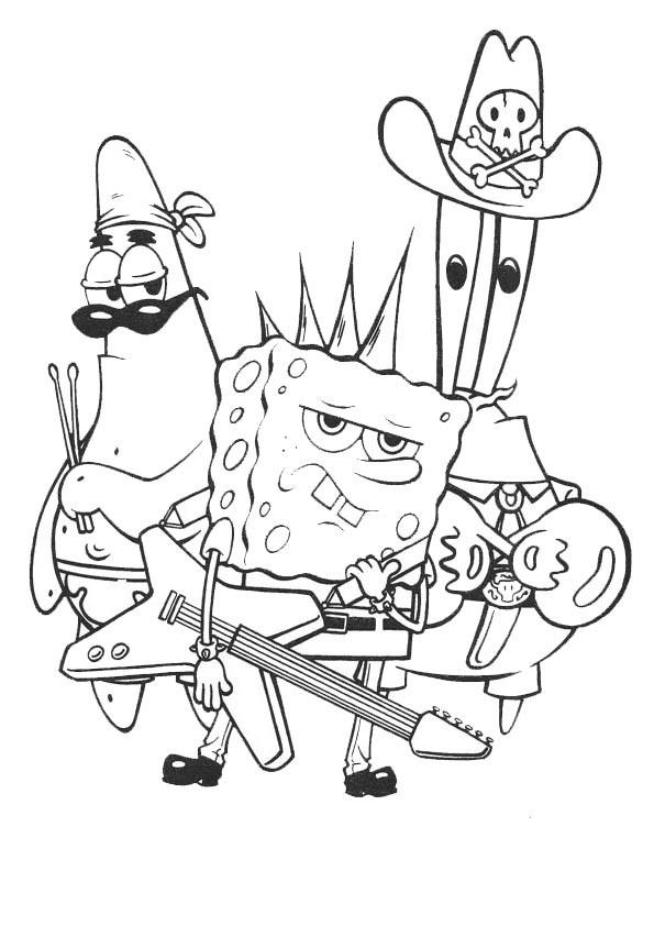Spongebob Malvorlagen  spongebob 1