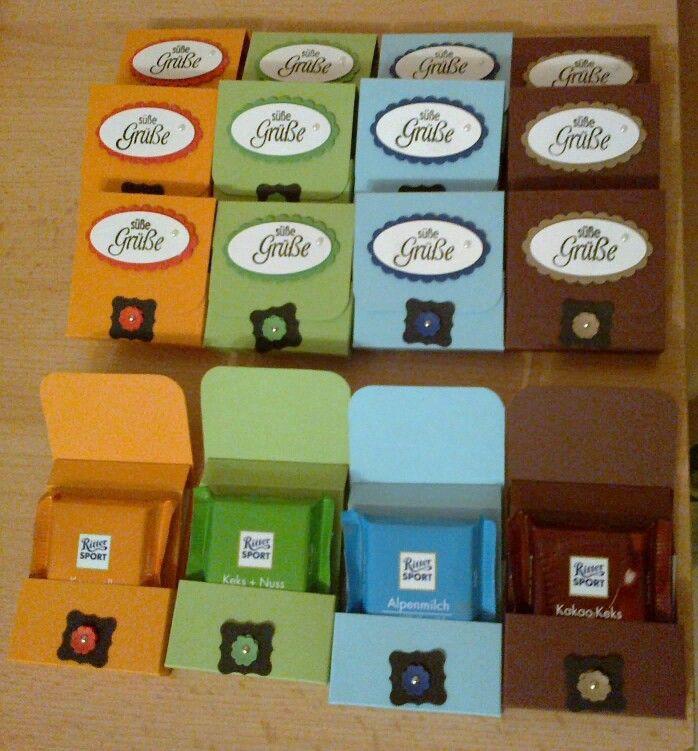 Sport Geschenke  17 Best images about Verpacken Schokolade on Pinterest