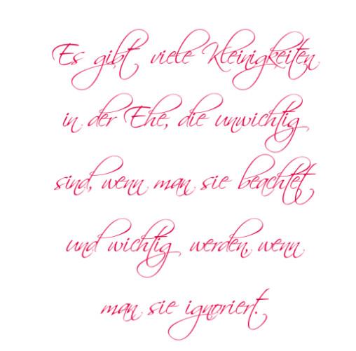 Sprüche Hochzeit  Publié le 21 12 2015