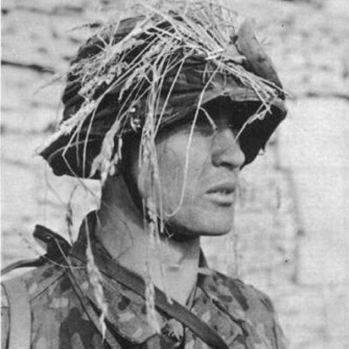 Ss Haarschnitt  Waffen SS in Normandy