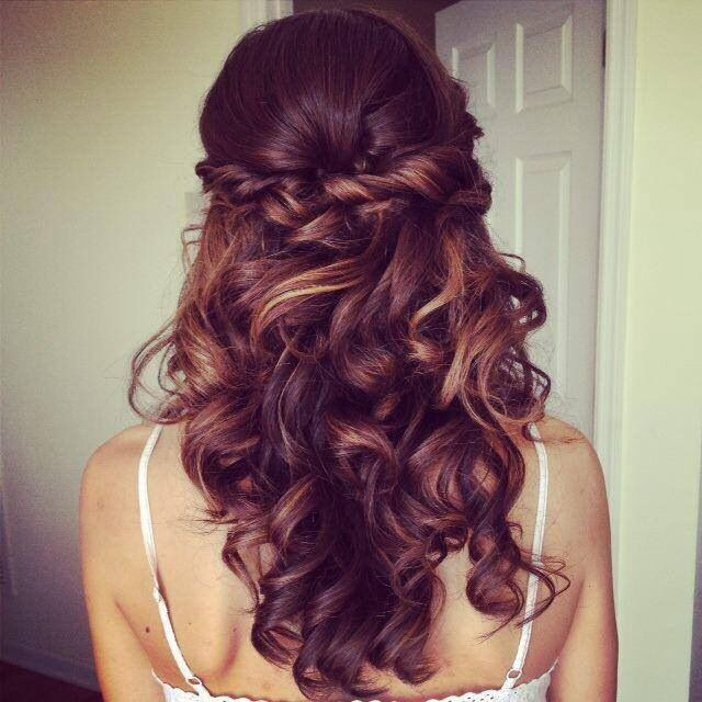 Standesamt Frisuren  Schöne offene Frisur fürs Standesamt