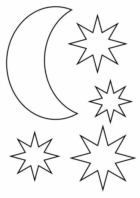 Sterne Ausmalbilder  Ausmalbilder