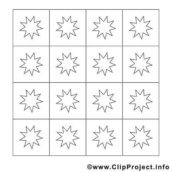 Sterne Ausmalbilder  Sterne Malvorlage Ausmalbild gratis