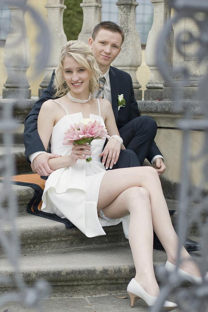 Strumpfhose Hochzeit  The World s newest photos of kleid and stocking Flickr