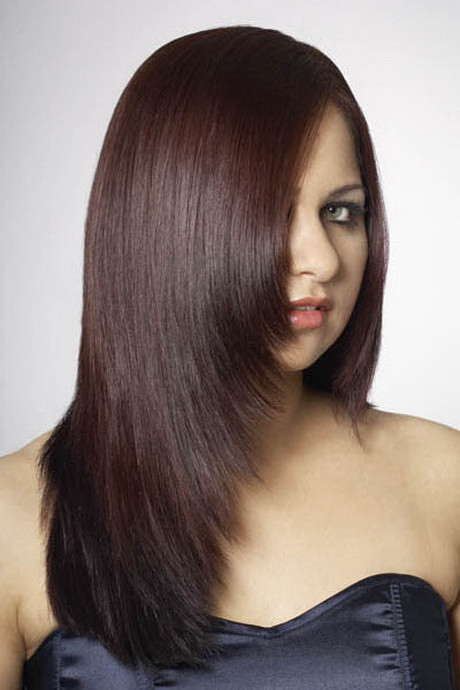 Stufiger Haarschnitt  Stufiger haarschnitt