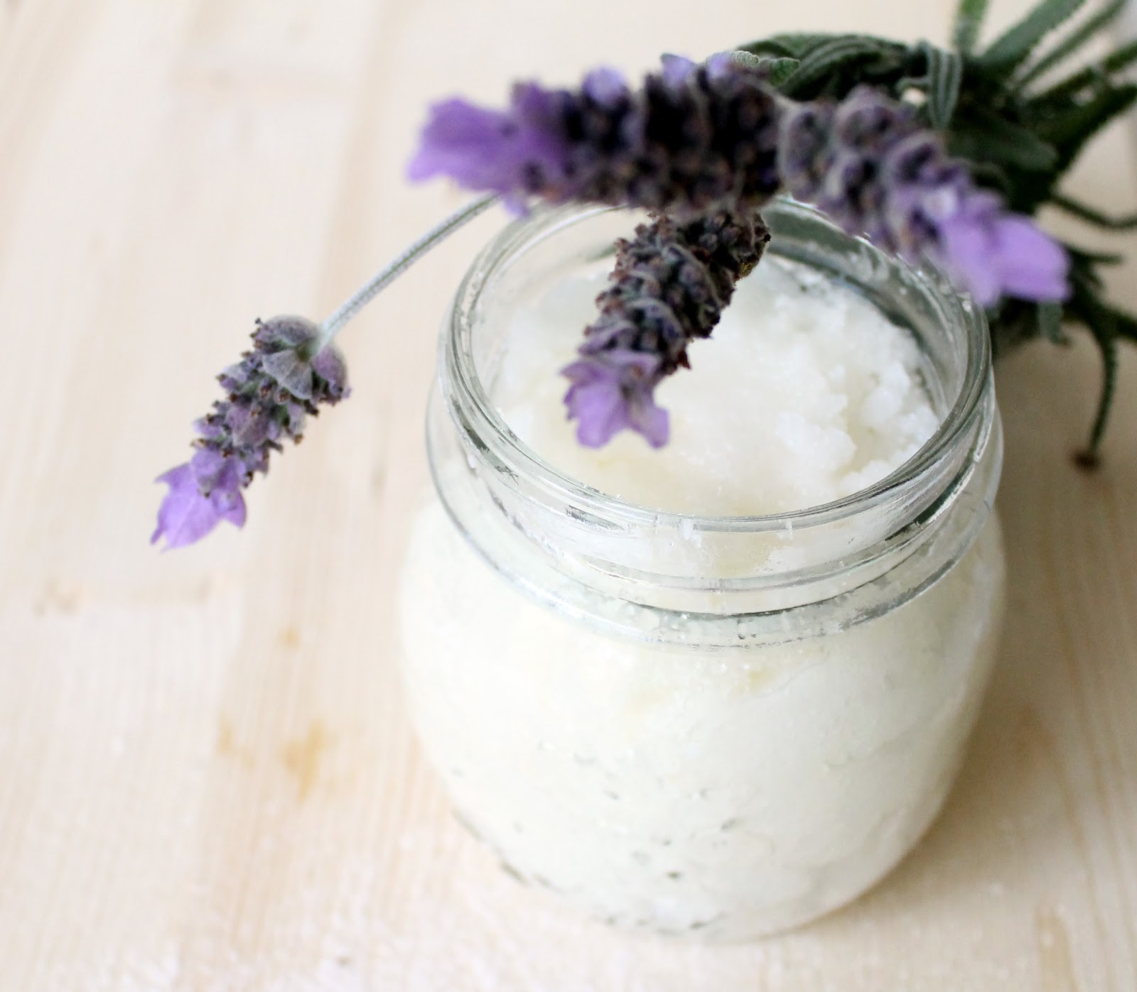 Sugar Scrub Diy  Now is magic DIY Lavender Sugar Scrub