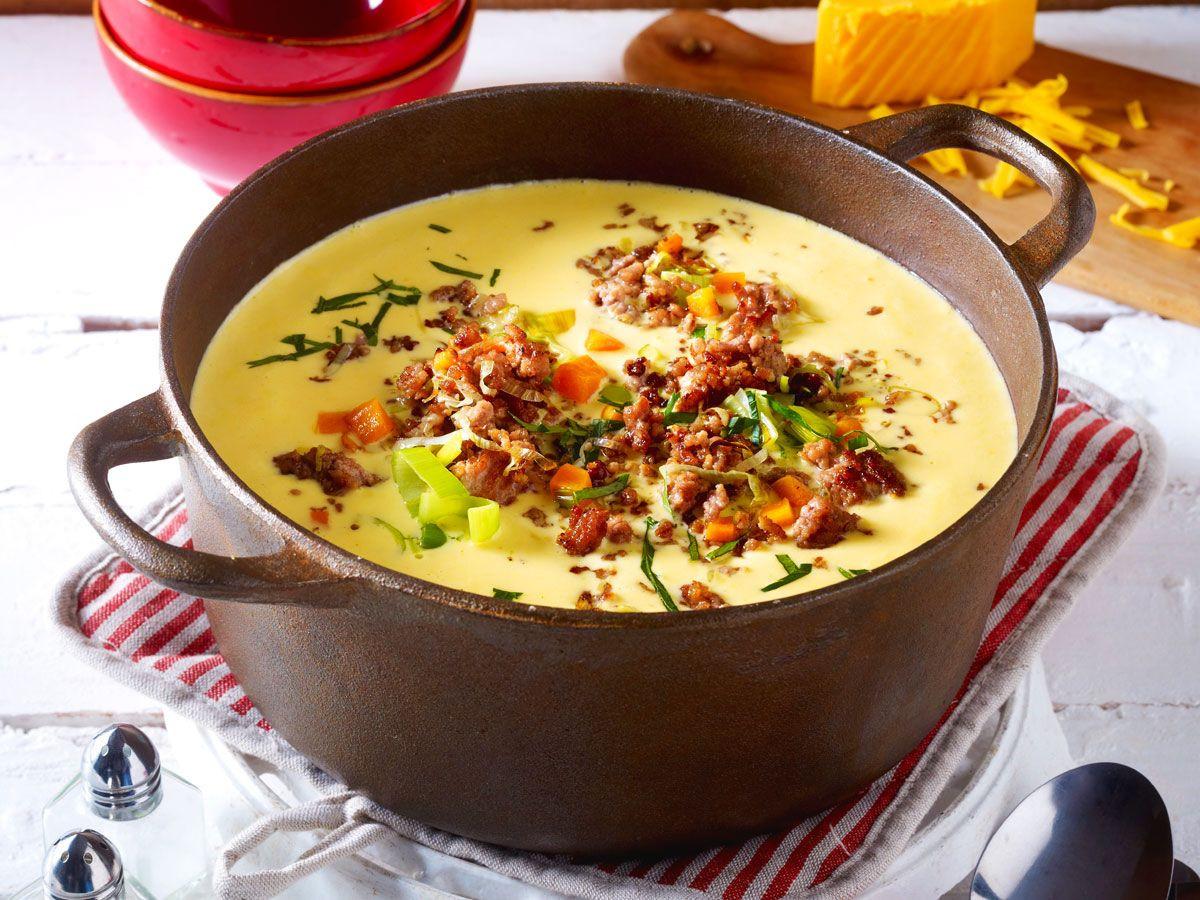 Suppe Für Geburtstagsparty  Wintersuppen Heißes für kalte Tage