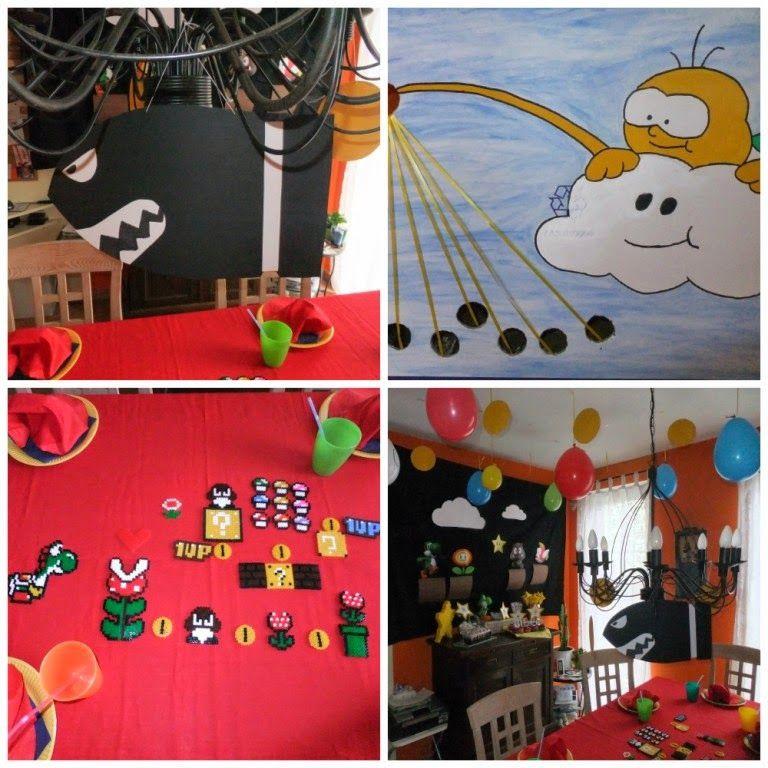 Suppe Für Geburtstagsparty  Super Mario Geburtstagsparty Kinderparty