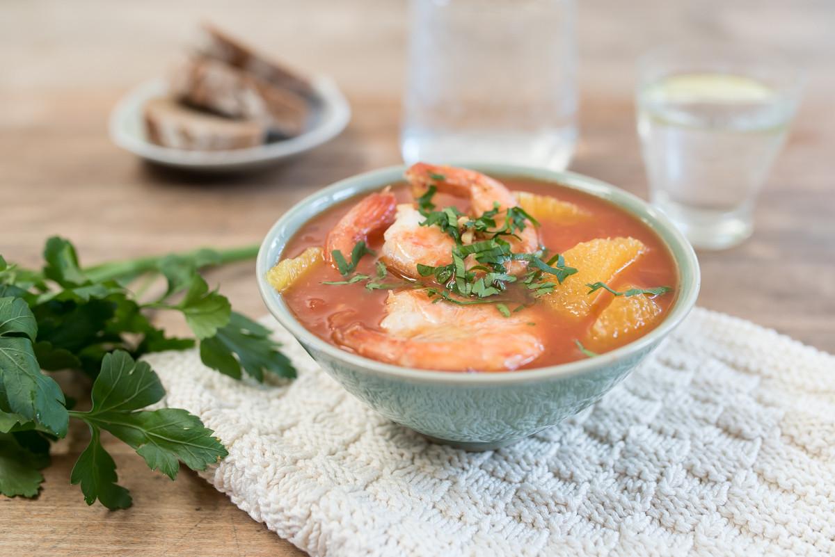 Suppe Für Geburtstagsparty  Keine Zeit zum Mittagessen 7 Tomaten Orangen Suppe mit