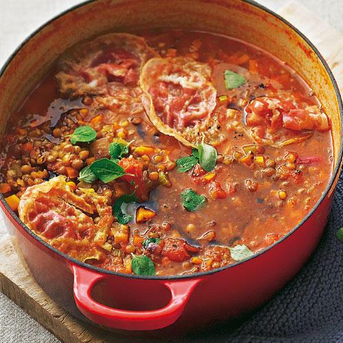 Suppe Für Geburtstagsparty  Italienischer Linseneintopf
