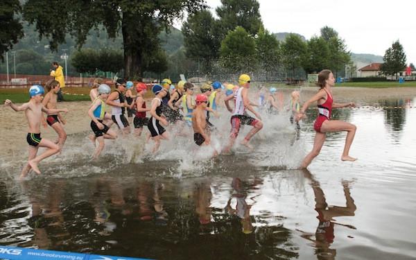 Sv Handwerk Leipzig  24 Jenaer Sparkassentriathlon mit Teilnehmerrekord