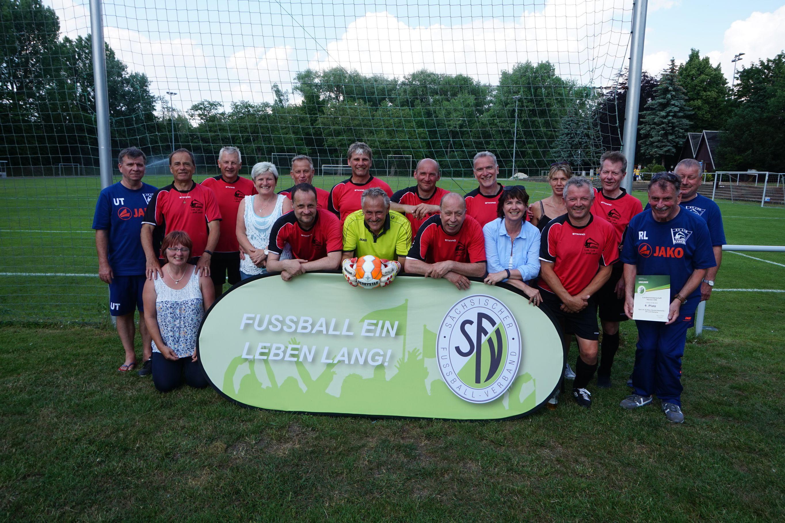Sv Handwerk Leipzig  Sächsische Meisterschaften Ü50 in Leipzig SV Aufbau