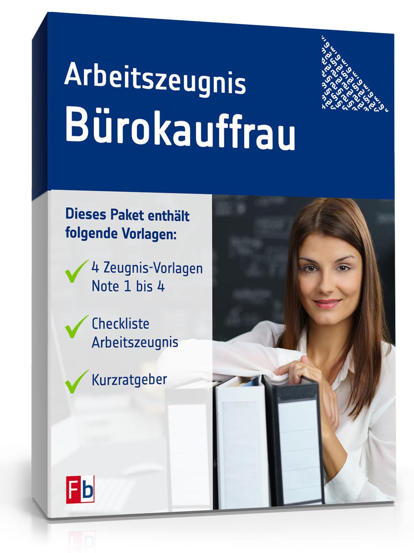 Tarifvertrag Bürokauffrau Handwerk  Arbeitszeugnis Bürokauffrau Muster zum Sofort Download