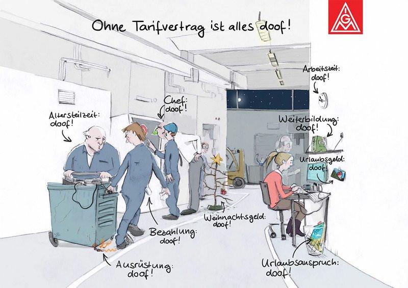 Tarifvertrag Bürokauffrau Handwerk  10 Fragen zum Tarifvertrag IG Metall Braunschweig